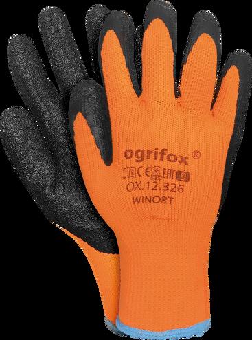 12 Paar Winter handschuhe Arbeitshandschuhe Handschuhe Thermo Gr. 9 10 11 WINORT Gr.9 Gr.10 Gr.11