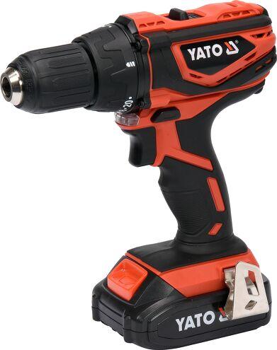 Profi 18 V Akkuschrauber von Yato mit 2 Ah. Akku 2 Gang Getriebe im Koffer
