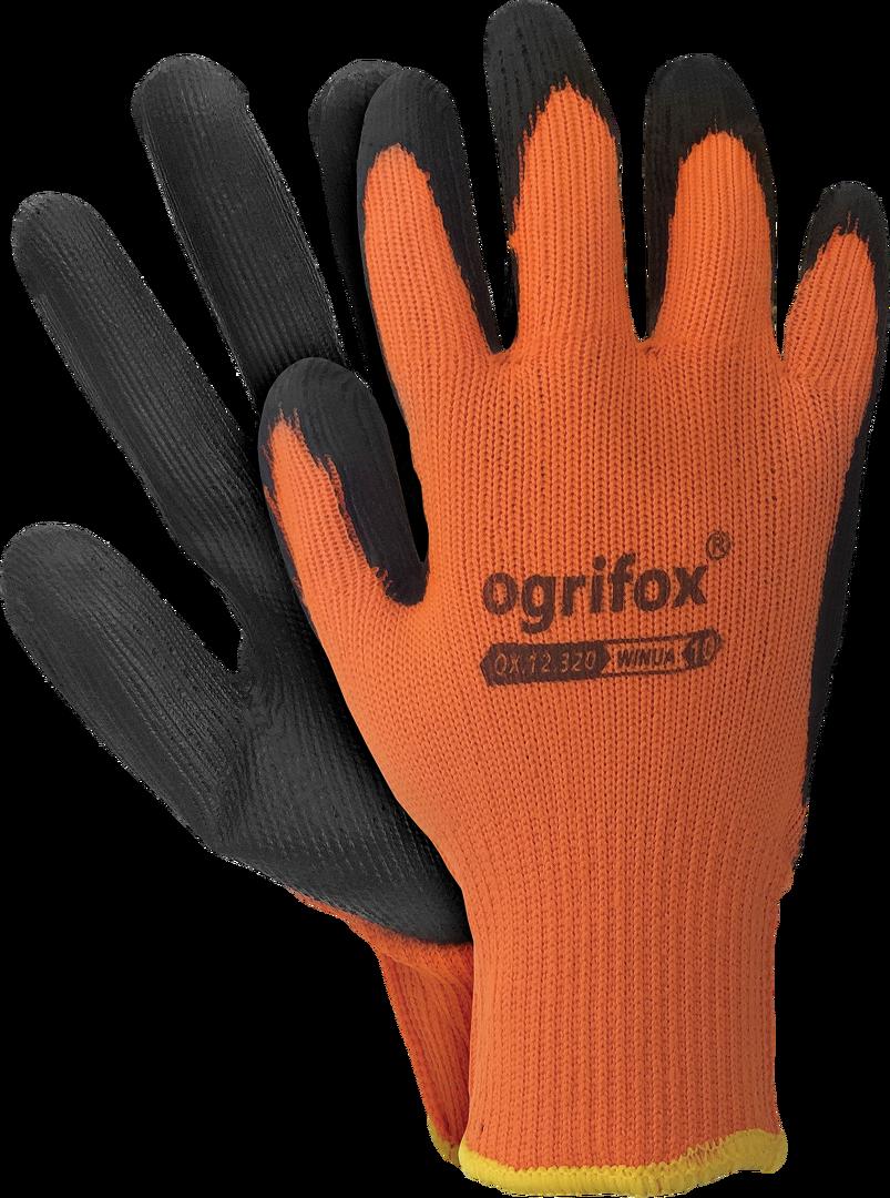 12 Paar Winua Winter Arbeitshandschuhe Latex beschichtet Handschuhe Gr.10 Winter