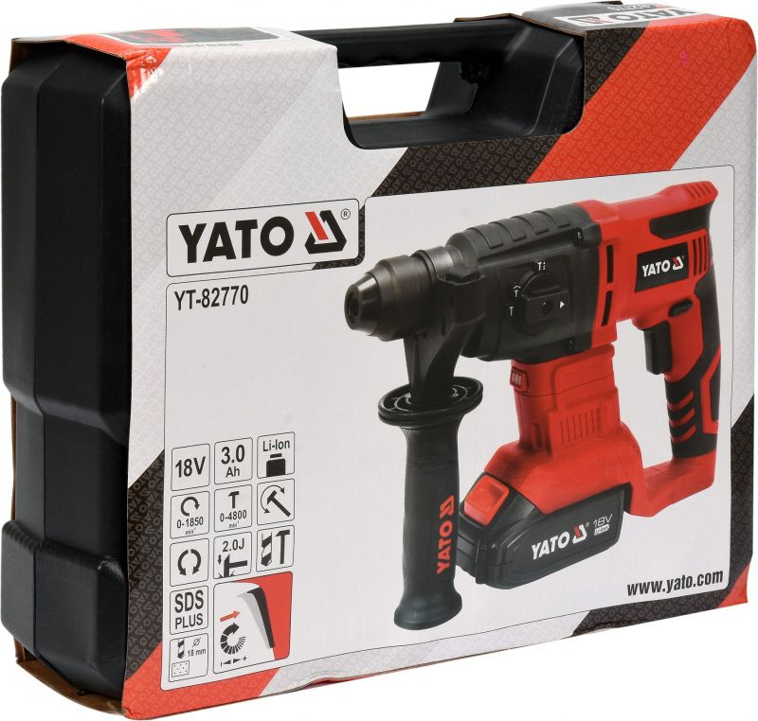 Profi 18 V Schlagbohrmaschine von YatoYT-82770 3 AH Akku