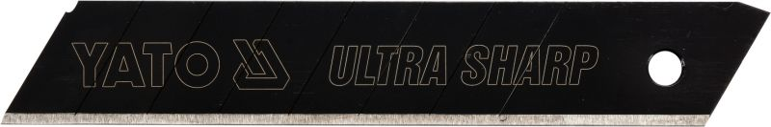 18 mm Cuttermesser mit 20 Abbrechklingen ultra scharf