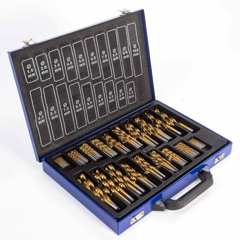 Werkzeug Bohrer HSS 230 - teilig Bohrer Set Spiralbohrer 1-10 mm Metallbohrer