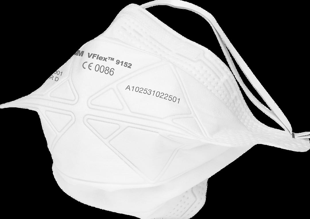 3M VFLEX 9152 FFP2 Atemschutzmaske EN 149:2001